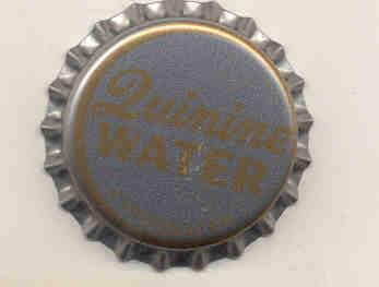 Quinine Water Soda Bottle Cap 1970s