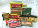 Lot Denninson Vintage Empty Boxes