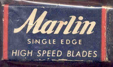 Marlin Razor Blades Full in Box 1950s