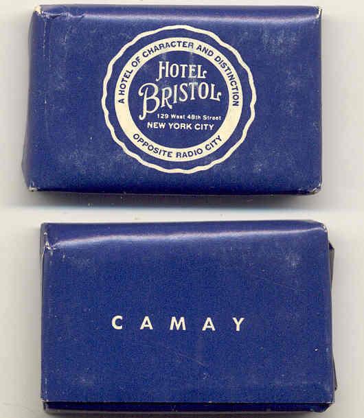 Bristol Hotel Camry Soap