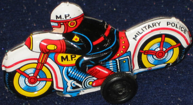Friction Motor Motorcycle Toy