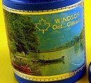 Windsor Canada Vinyl Covered Souvenir Bank