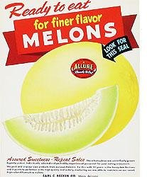 Allure Melons Sign