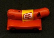 Oscar Mayer Frankfuter Weenie Whistle Toy