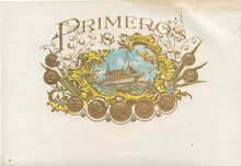 Primeros Cigar Label 1920s