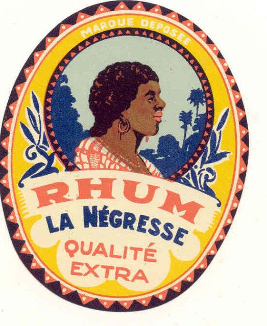 Negro Rum Label