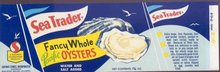 Sea Trader Oyster Bay Label