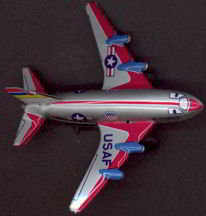 USAF Airplane Tin Toy