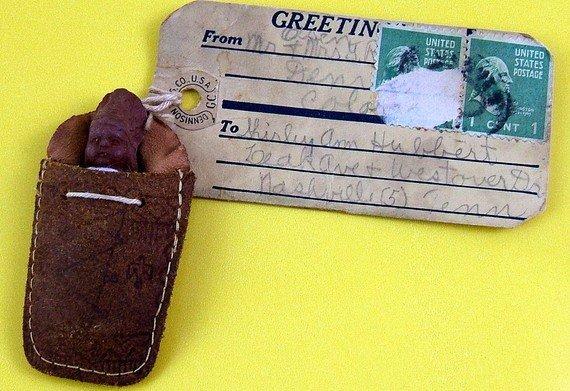 Denver Skookum Native American Indian Doll Mailer