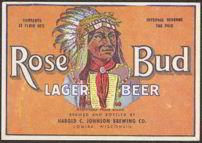 Rosebud IRTP Beer Label