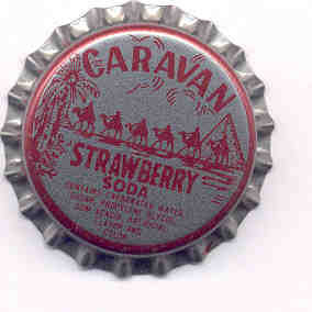 Caravan Soda Bottle Cap