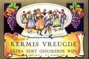 Kermis Vreugde Wine Label