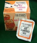 Old Fashioned Vintage Drink Mix Box Full