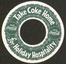 Coca Cola Soda Coke Bottle Hangar Ring