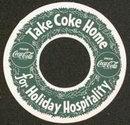 Coca Cola Soda Coke Bottle Hangar Ring