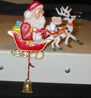 Santa Claus Mechanical Bell Pull Pin