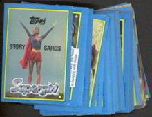 Topps Supergirl Trading Cards Full Set 1984