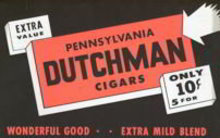 Pennsylvania Dutchman Cigar Poster