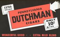 Pennsylvania Dutchman Cigar Poster