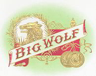 Big Wolf Cigar Box Label