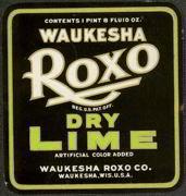 Waukesha Roxo Label