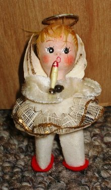 Japan Girl Angel Xmas Ornament
