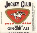 Jockey Club Gingerale Soda Label