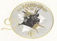 Round Up Cigar Label