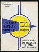 Freedman Novelty Catalog 1958
