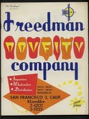 Freedman Novelty Catalog 1959