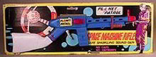 Planet Patrol Space Machine Gun Toy on Card