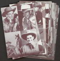 Exhibit Cowboy Arcade Cards
