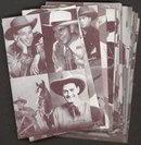 Exhibit Cowboy Arcade Cards
