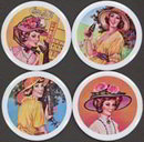 Coca Cola Soda Coasters 1972