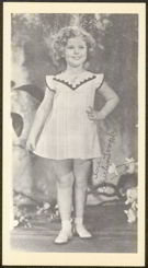 Shirley Temple 1930s Postcard
