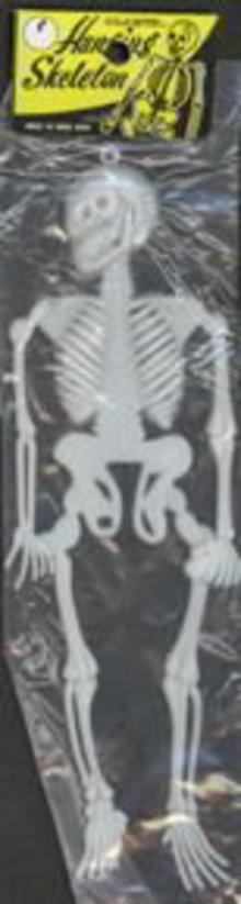Halloween Skeleton in Bag 1960s