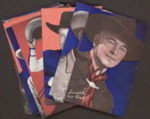 Color Arcade Cowboy Cards