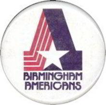 Birmingham Americans Pin