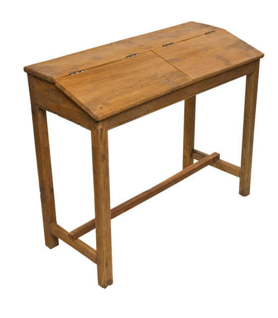 Teakwood Double India School Desks