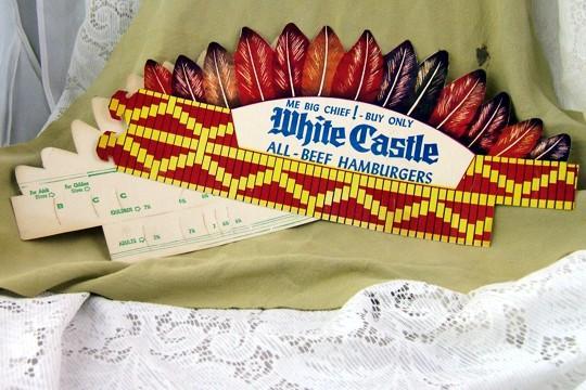 White Castle Promo Hat 1960s