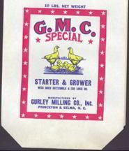 GMC Chicken Feed Bag Empty