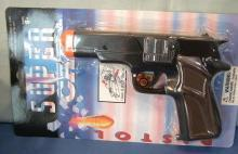 Police Cap Gun Toy on Display Card