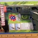 Army Colt Government Cap Gun Pistol Toy on Store Card