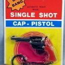 Cap Gun Keychain on Display Card #1