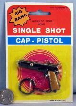 Cap Gun Keychain on Display Card #4