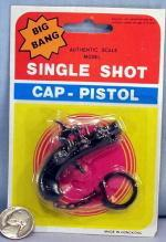 Pirate Cap Gun Keychain on Display Card #5