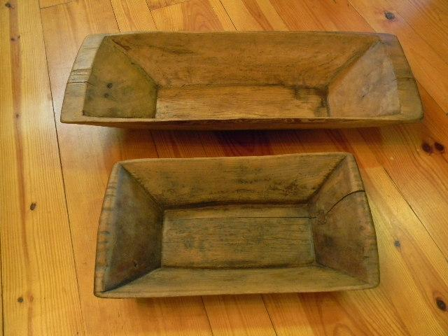 Turkey Primitive Wood Dough Bowl Antique