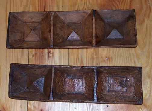 Antique Dough Riser Wood Primitive Turkey