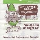 Woodsy Owl Litterbag