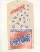 Hot Delicious Movie Popcorn Bag